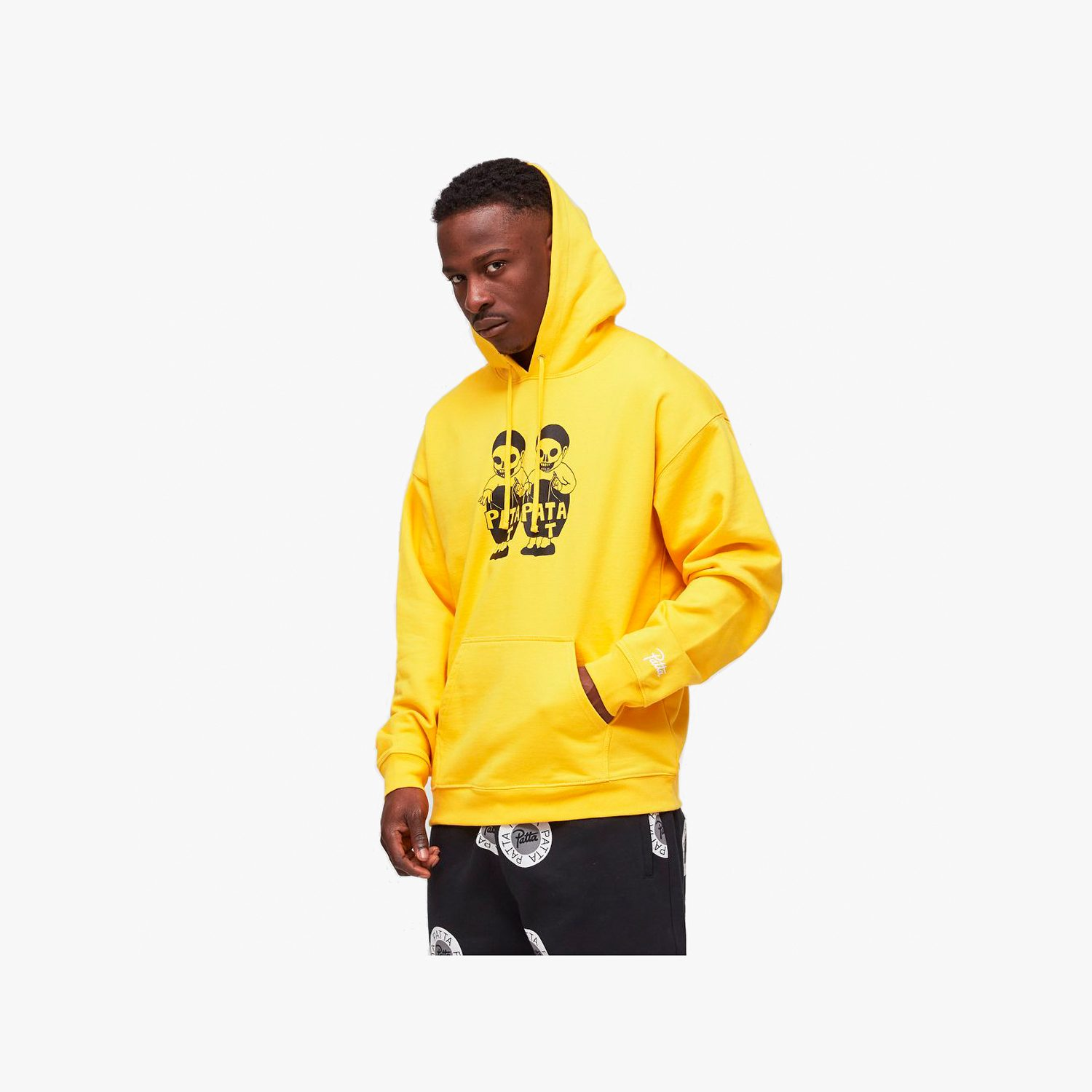 Patta Baby Hooded Sweater (Spectra Yellow)